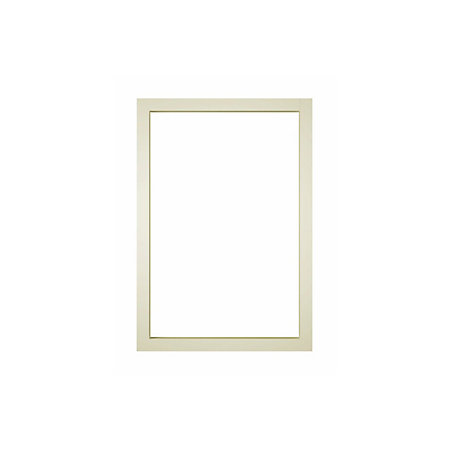 It kitchens cream open wall cabinet w 500mm departments for Kitchen cabinets 500mm