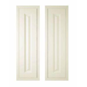 IT Kitchens Holywell Cream Style Classic Framed Larder Door (W)300mm  Set of 2