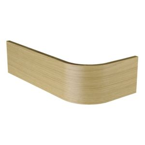View Cooke & Lewis Kitchens Wood Grain Effect Curved Plinth (L)750mm details