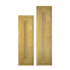 View Cooke & Lewis Chillingham 300mm Tall Larder Door, PACK V1, Set of 2 details
