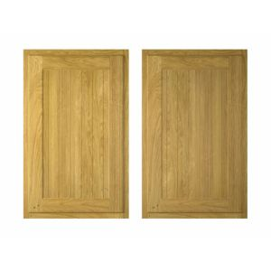 View Cooke & Lewis Chillingham 600mm Larder Door, PACK E, Set of 2 details