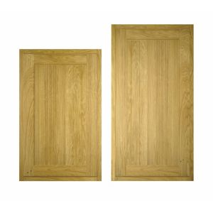 View Cooke & Lewis Chillingham 600mm Tall Larder Door, PACK E1, Set of 2 details
