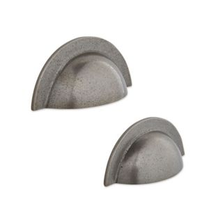 View IT Kitchens Antique Pewter Effect Cup Cabinet Handle, Pack of 2 details