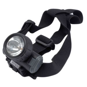 View B&Q Plastic Krypton Head Torch details