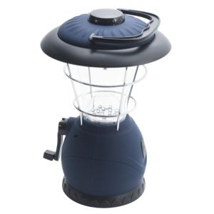 View B&Q 30lm Plastic LED Wind Up Lantern details
