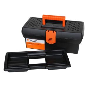 View B&Q Plastic Tool Box 178mm 318mm details