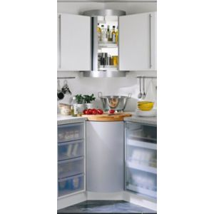 View B&Q Stainless Steel Effect Storage System details