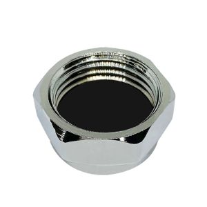 View Plumbsure Brass Threaded Blanking Cap (Dia)12.7 mm details
