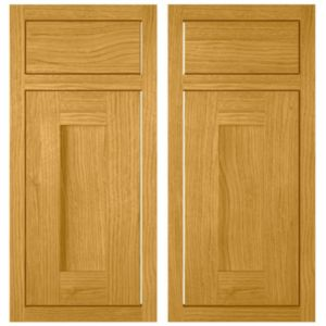View Cooke & Lewis Clevedon 925mm Base Corner Drawerline Door, Pack  Eedl, Set of 2 details