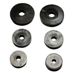 Plumbsure Rubber Tap Washer  Pack of 6