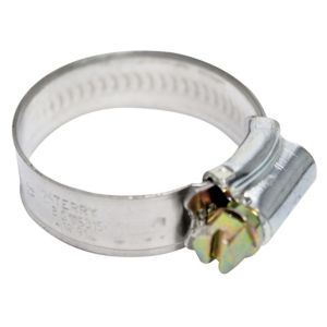 View Plumbsure Silver Hose Clip (Dia)35mm, Pack of 20 details