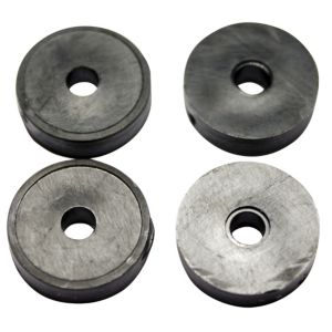 Plumbsure Rubber Tap Washer (Thread)38  Pack of 4