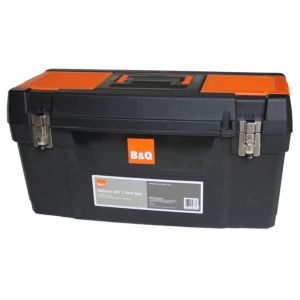 View B&Q Plastic Tool Box 292mm 635mm details