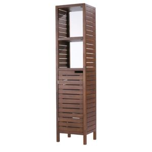 View Cooke & Lewis Velon Walnut Effect Tall Unit details