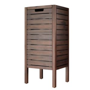 View Cooke & Lewis Velon Walnut Effect Laundry Bin details