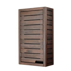 View Cooke & Lewis Velon Single Door Walnut Effect Wall Cabinet details