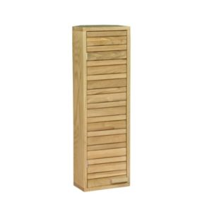 View Cooke & Lewis Savena Single Door Oak Effect Corner Wall Cabinet details