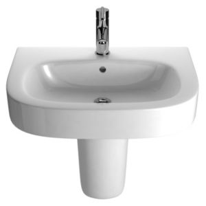View Cooke & Lewis Alexas Oval Semi Pedestal Basin details