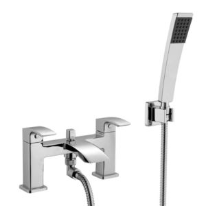 View Cooke & Lewis Metro Chrome Bath Shower Mixer Tap details