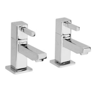 View Cooke & Lewis Meribel Chrome Basin Tap, Pack of 2 details