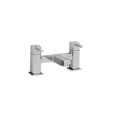 cooke lewis meribel chrome bath mixer tap departments. Black Bedroom Furniture Sets. Home Design Ideas