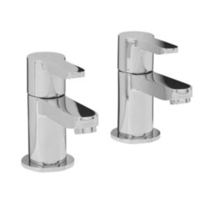 View Cooke & Lewis Tahoe Chrome Bath Tap, Pack of 2 details