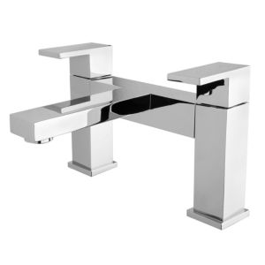 View Cooke & Lewis Salzburg Chrome Bath Tap details