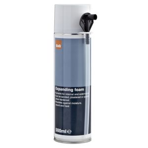View B&Q 500ml Expanding Foam details