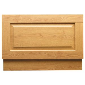 View Cooke & Lewis Light Oak Effect Bath End Panel (W)735mm details