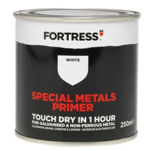 View Fortress White Metallic Paint Primer 250ml details