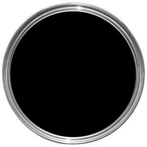 Image of Fortress Black Gloss Multipurpose paint 0.75L
