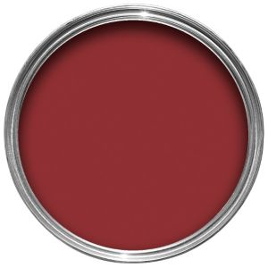 View Colours Quick Dry Interior Classic Red Satin Paint 750ml details