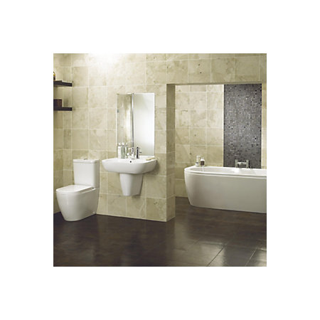Cooke lewis helena bathroom suite departments diy at b q for Bathrooms b q suites