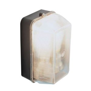 View B&Q Strobus 60W Mains Powered Wall Light details