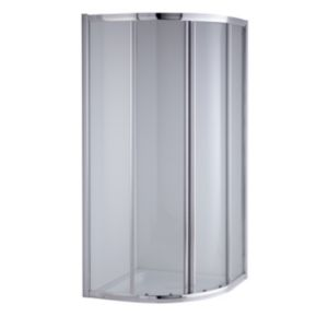 View Quadrant Shower Enclosure, Tray & Waste (W)900mm (D)900mm details