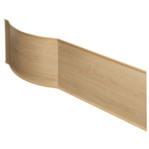 View Cooke & Lewis Adelphi Oak Effect Bath Front Panel details