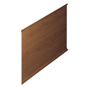 View Cooke & Lewis Adelphi Walnut Effect Bath End Panel details
