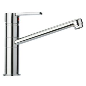View Cooke & Lewis Aso Chrome Effect Lever Tap details