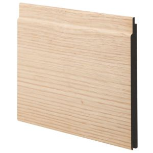 View Geom MDF Oak Oak Veneer Cladding (L)2400 mm (W)144 mm (T)12 mm, Pack of 2 details