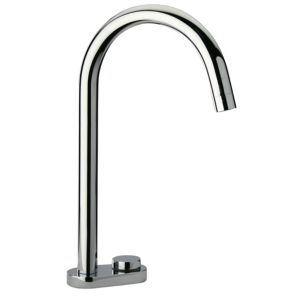 View Cooke & Lewis Bell Weir Chrome Effect Electronic Tap details