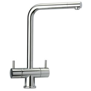 View Cooke & Lewis Teshio Chrome Effect Monobloc Tap details