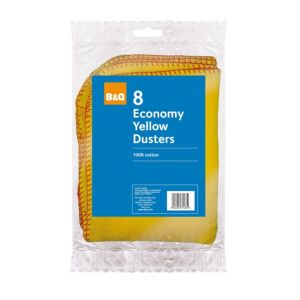 View B&Q Cotton Duster, Pack of 8 details