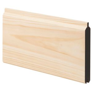 View Geom Softwood Unfinished Cladding (L)3600 mm (W)94 mm (T)14.5 mm, Pack of 1 details