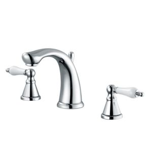View Cooke & Lewis Timeless 2 Lever Basin Mixer Tap details