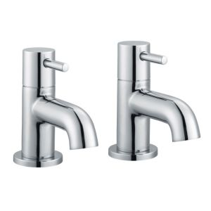 View Cooke & Lewis Minima Chrome Bath Tap, Pack of 2 details