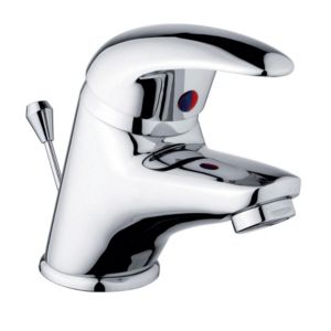 View Cooke & Lewis Wave 1 Lever Mini Basin Mixer Tap details