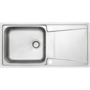 ... Passo 1 Bowl Stainless Steel Sink & Drainer Departments DIY at B&...