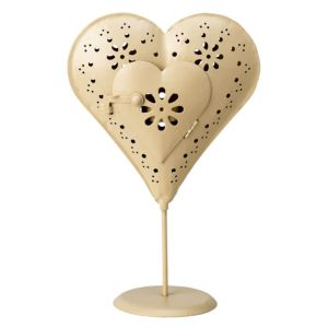 View Standing Heart Tealight Candle Holder details