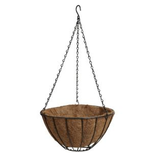 View Blooma Black & Brown Hanging Basket details