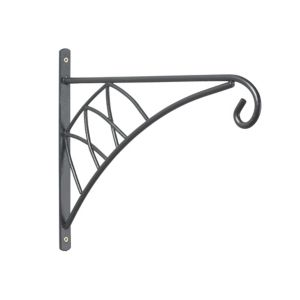 View Blooma Classic Black 120mm Hanging Basket Bracket details